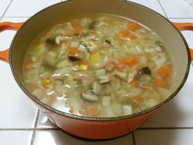 【ヨードリップ】ホエー野菜スープ