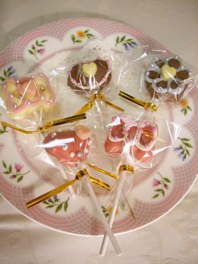 デコ ロリポップ チョコ By 貝印kai クックパッド 簡単おいしい
