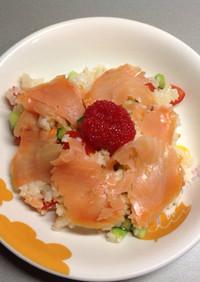 海外で簡単!混ぜ寿司