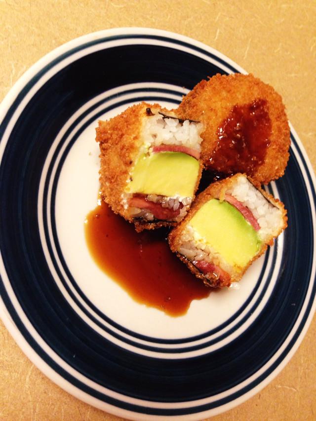 USA発!超簡単激ウマ!フライド寿司