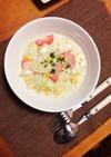 生鮭と白菜でコーンクリームシチュー♡