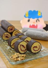 オーブン不要!HMでミニ恵方ロールケーキ