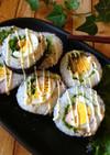 ゆで卵ごろっと!鶏むねチキン南蛮巻き寿司