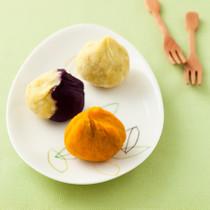 野菜の茶巾しぼり
