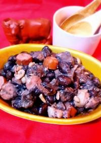 ブラジル豆と肉の煮込み♪フェジョアーダ