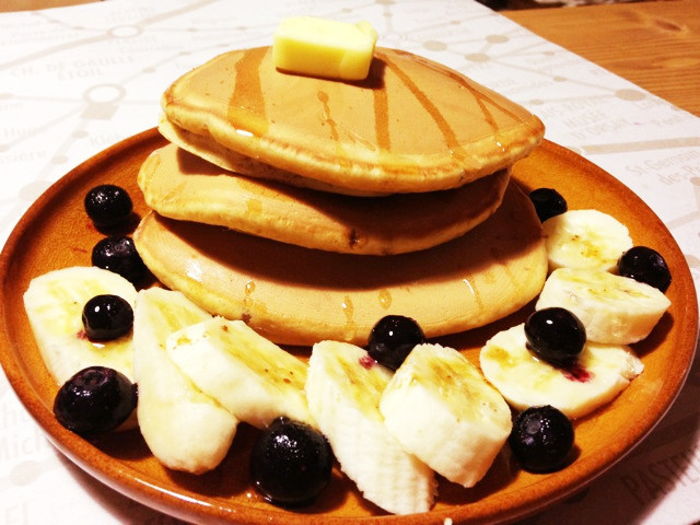 【究極】ふっくら♡ふわふわのパンケーキ♡