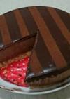 とろける~チョコムース&ガナッシュケーキ