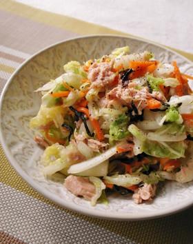 白菜とツナのさっぱりサラダ