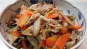 汁なし豚汁♪豚バラと新ごぼうの味噌煮の写真