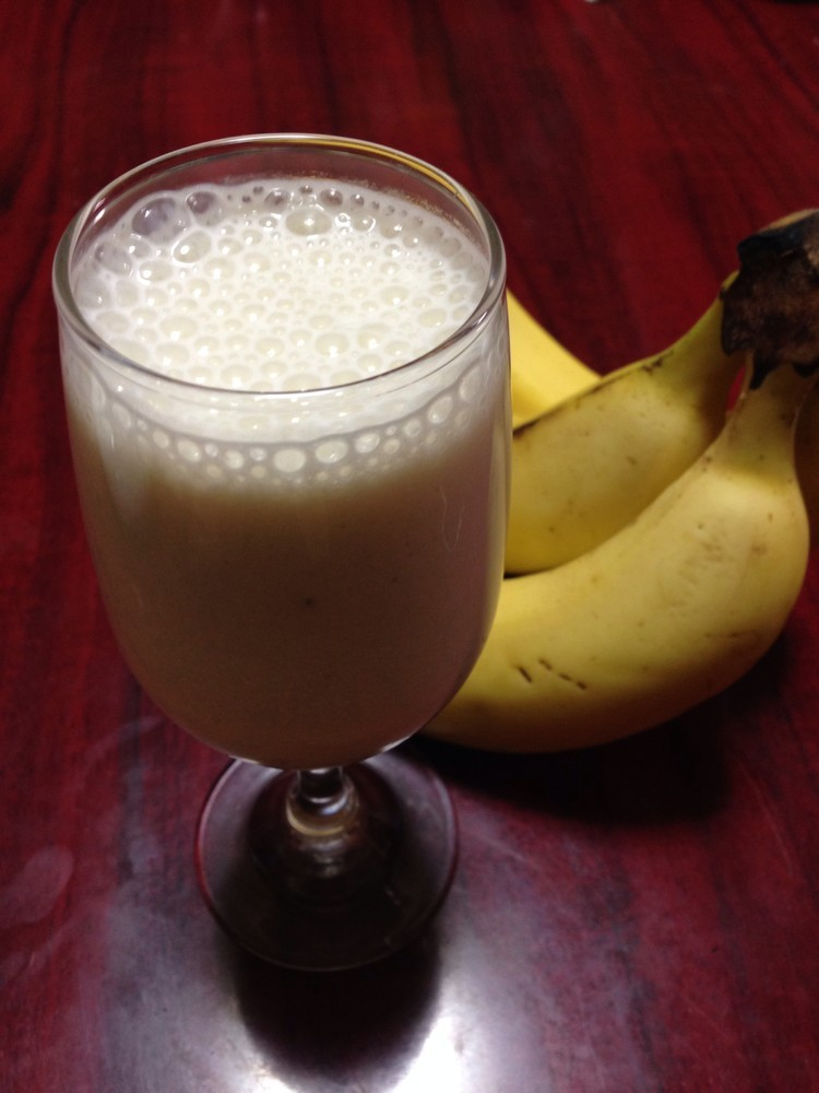 簡単☆喫茶店のバナナジュース