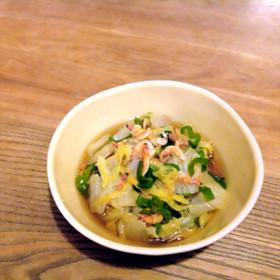 冬のあと一品に✨白菜のとろとろ煮