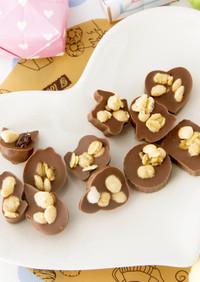 バレンタイン★簡単チョコレートクランチ