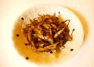 昆布と舞茸の煮物