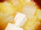 たっぷり白菜♡揚げと豆腐の味噌汁