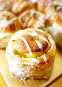 アールグレイ★紅茶りんごちぎりパン