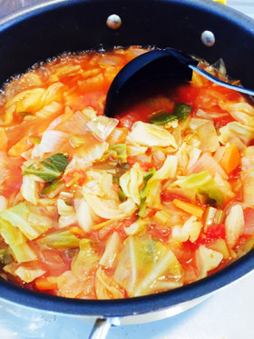 体リセット★脂肪燃焼スープ★