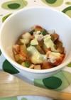 【離乳食後期】ズッキーニのトマトグラタン