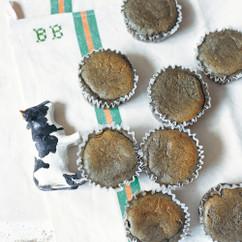黒ごまのスフレチーズケーキ