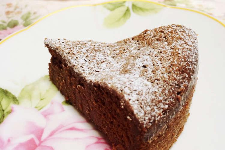 簡単 ケーキ ミックス ショコラ ガトー ホット