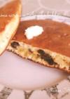 母の味☆チーズとレーズンのホットケーキ☆