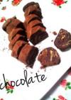 材料4つ❀バレンタインに簡単チョコサラミ