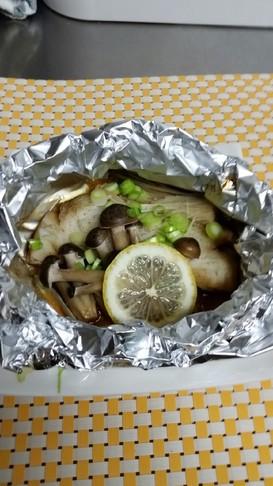 鱈のバターレモンホイル焼き