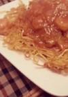 ラーメン屋さんのあんかけ焼きそばの麺!