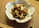 お酒のお伴に☆焼き茸の柚子胡椒浸し