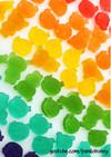 手作り虹色の飴の作り方