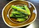鉄板レシピ 小松菜のナムル 簡単