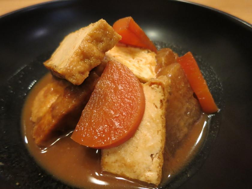 厚揚げのマヌカ味噌煮