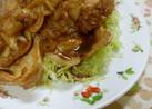 いつもの豚肉の生姜焼き