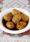 長芋入り和風甘酢肉だんご