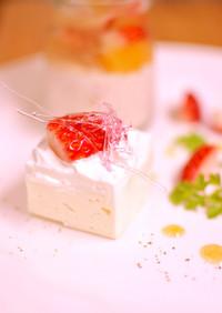 ホワイトチョコムース
