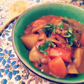 簡単♡節約♡鯖缶と根菜のカレースープ