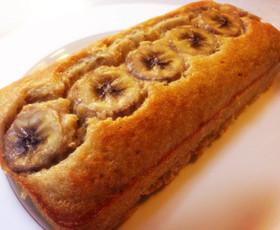 簡単*ココナッツオイルのバナナケーキ