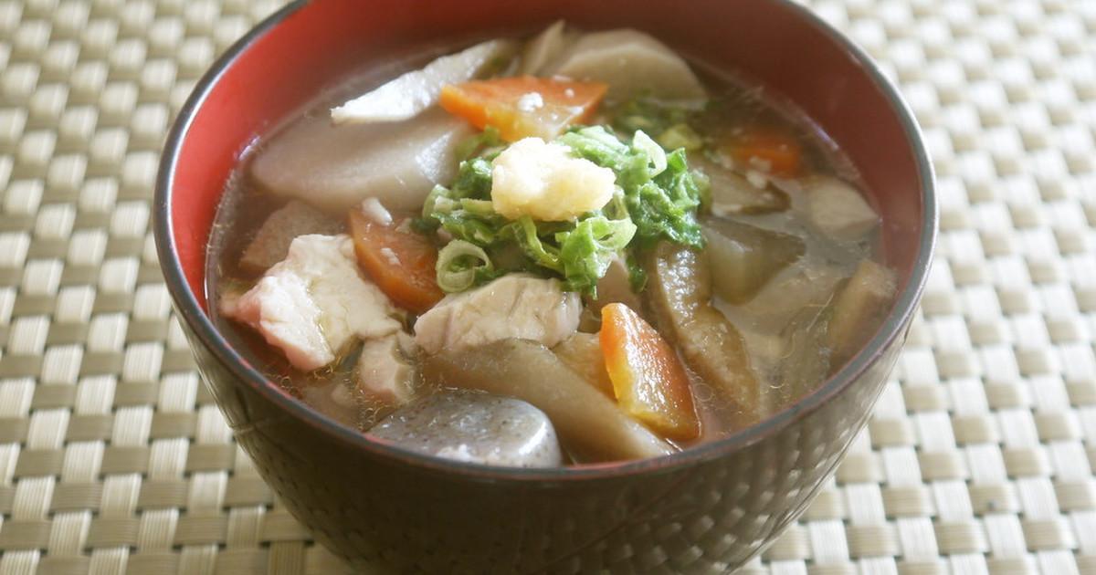 翌日も美味♪麺つゆで簡単素朴なけんちん汁 by スタイリッシュママ [クックパッド] 簡単おいしいみんなのレシピが254万品