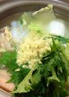 風邪引きさんへの生姜鍋