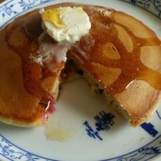 yummy♪ラズベリーパンケーキ