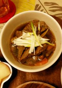 牛スジ肉の煮込み(シャトルシェフ使用)