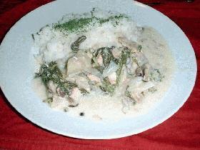 鮭のクリーム煮MIRELLE風