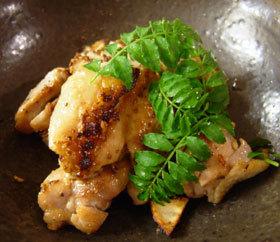 鶏手羽肉の山椒焼き