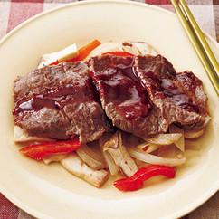 牛肉のホイル焼き