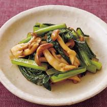 小松菜のマヨソテー