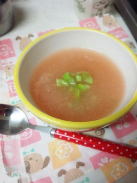 春を呼ぶ!大根とトマトの優しいスープ