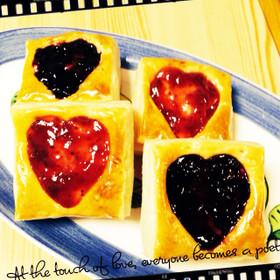 バレンタインに♡クリームチーズベリーパイ