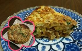 台湾式オムレツ✩( 菜脯蛋 )