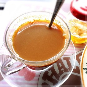 生姜蜂蜜シナモンコーヒー