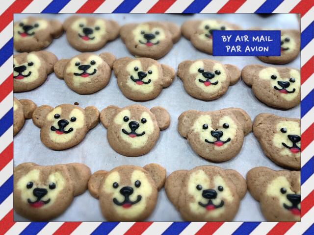 バレンタイン♡クッキー  ダッフィー !