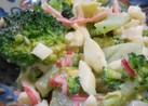 ブロッコリーとゆで卵のサラダ
